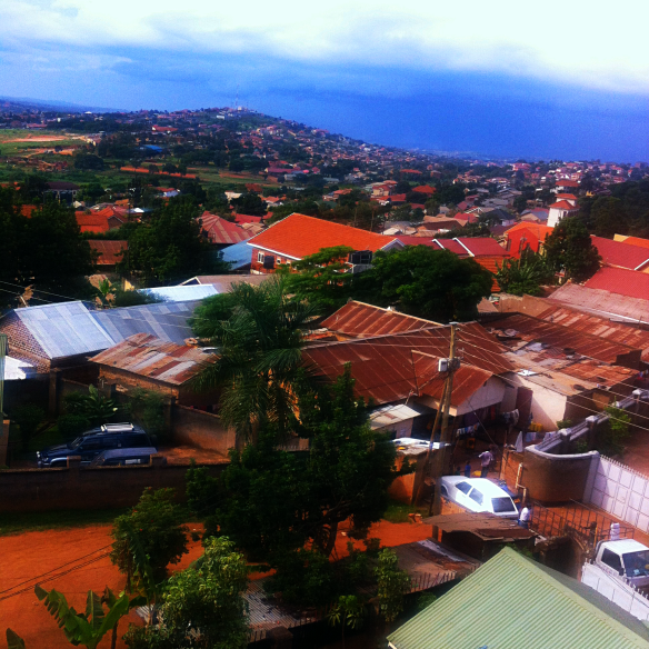 Views from Ntinda as the rain rolls in.