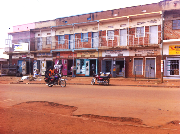 Road in Gulu